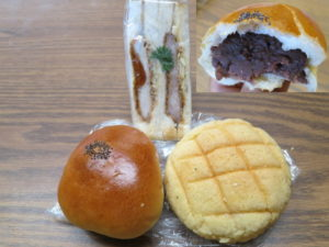 Ann-pan, Melon-pan, Cutlet-sandwitch