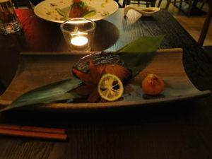 銀鱈の西京焼き in Nare Sushi