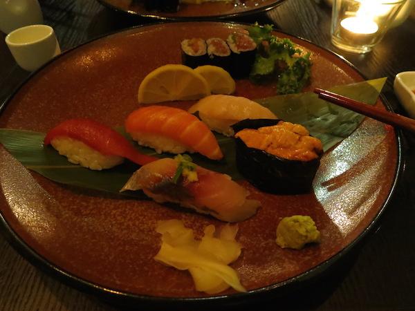 Sushi in Nare Sushi