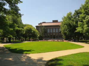 University of Michigan Diag and Graduate Library