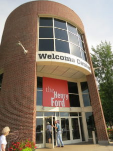 Henry Ford Museum entrance