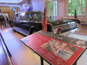Presidential car for J.F.Kennedy