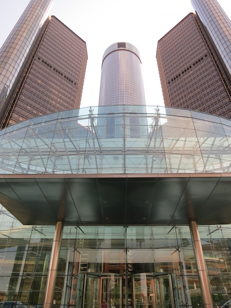 GM RENCEN, front entrance