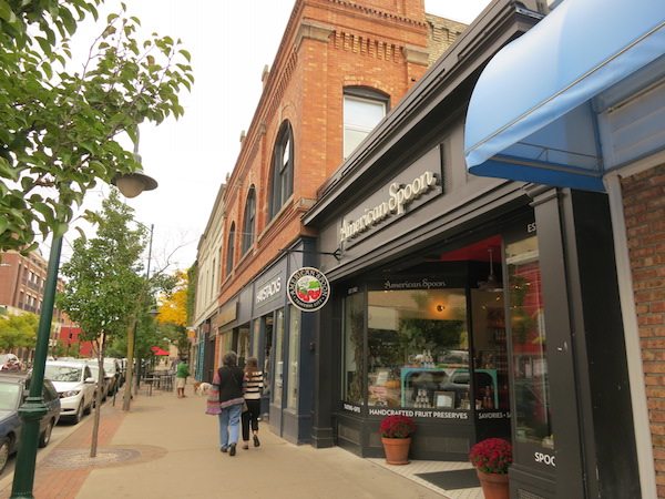 Downtown of Traverse City