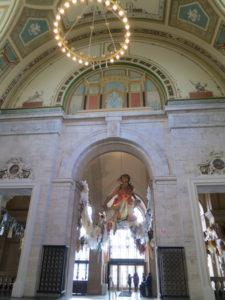 デトロイト美術館入口