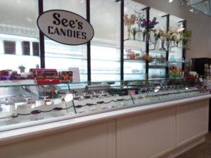 チョコ(See's candies)の売店