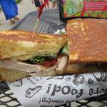 Zingerman's Delicatessenの美味しいサンドイッチ