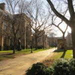 Yale大学を散策